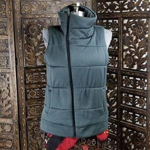 The North Face Asymmetrical Zipper Puffer Vest